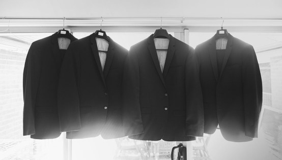 Hanging suits