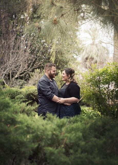 Himeji Gardens Engagement shoot