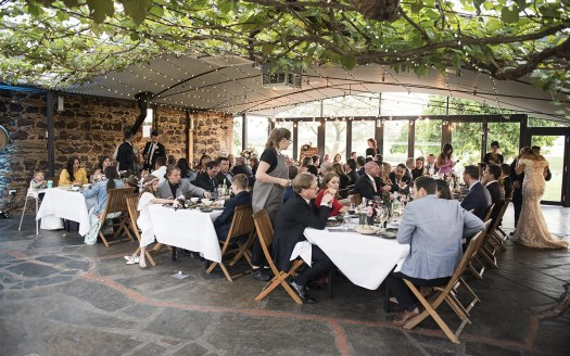 Coriole Vineyard wedding reception