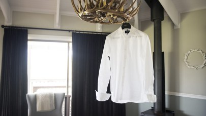 Hanging shirt