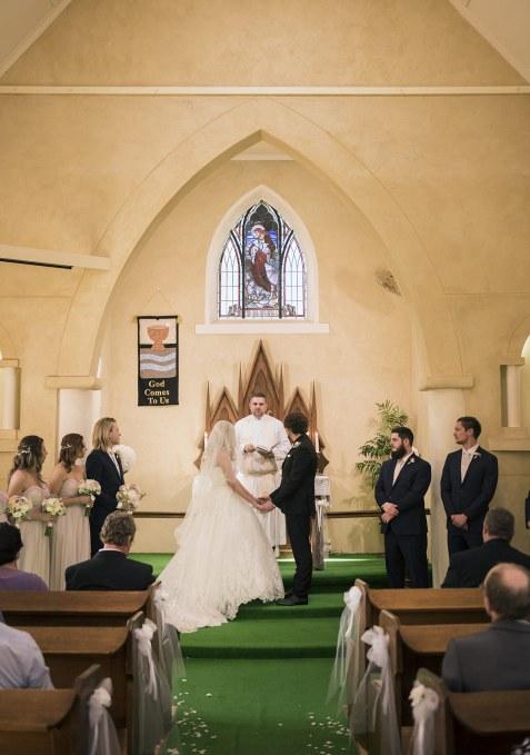 Renmark Church Wedding