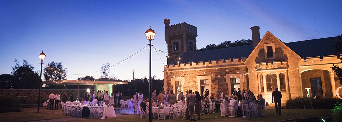 Glanville Hall Wedding