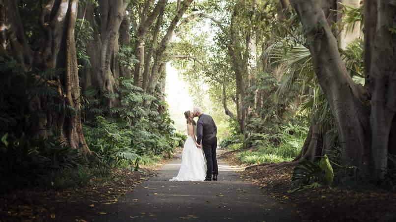 Adelaide Botanical Gardens Wedding
