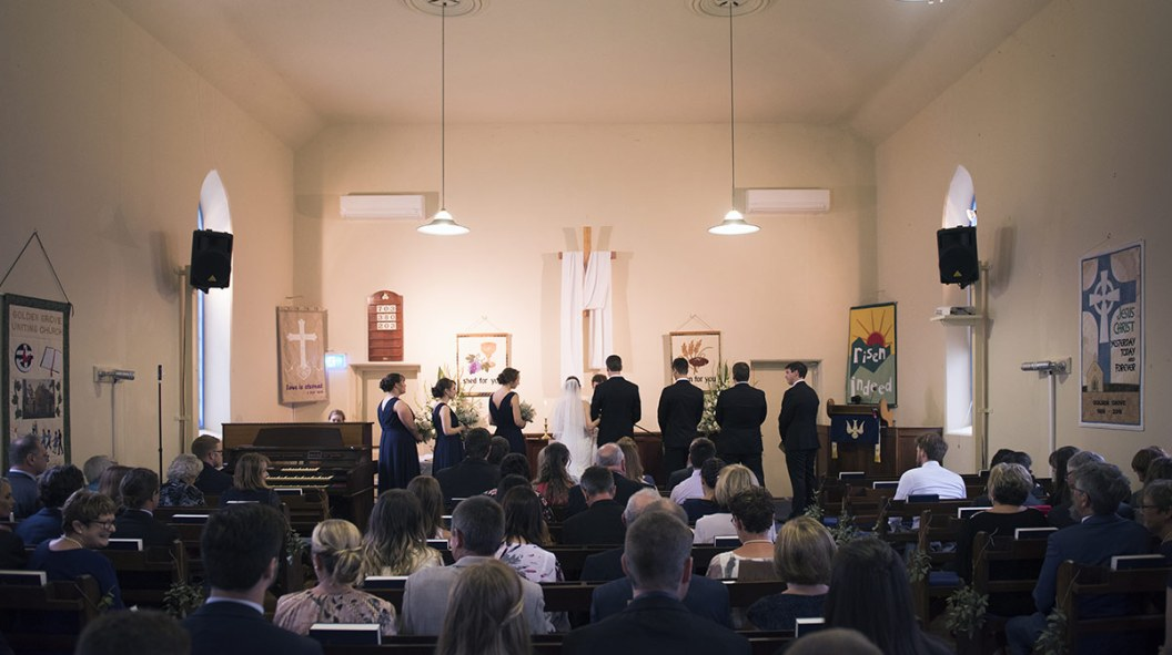 Golden Grove Uniting Church Wedding