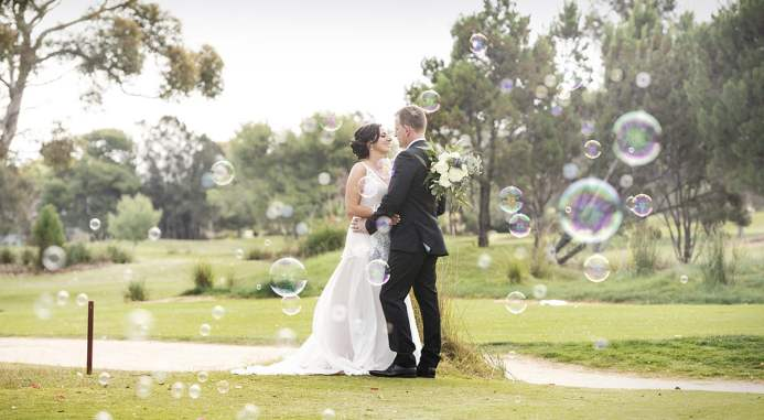 Bubble at the Glenelg Golf Course