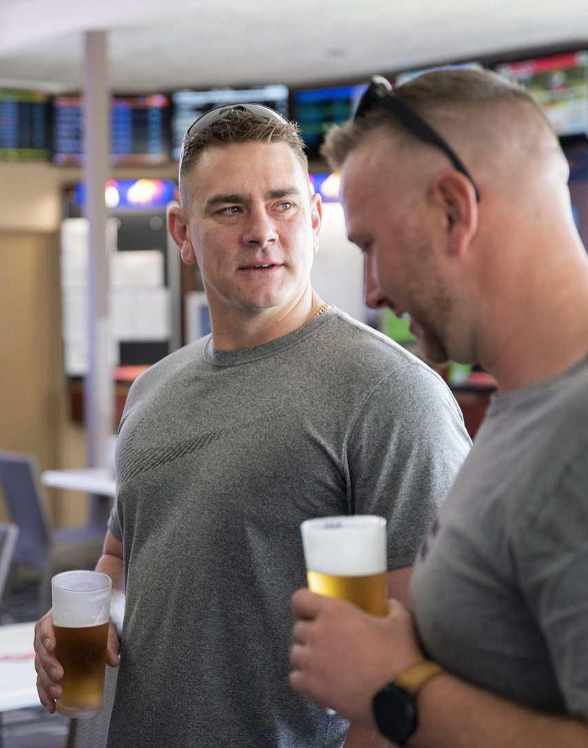At the pub