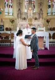 Together at the altar
