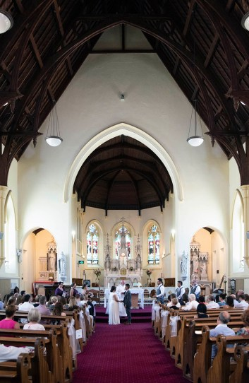 Inside St Laurence's Church