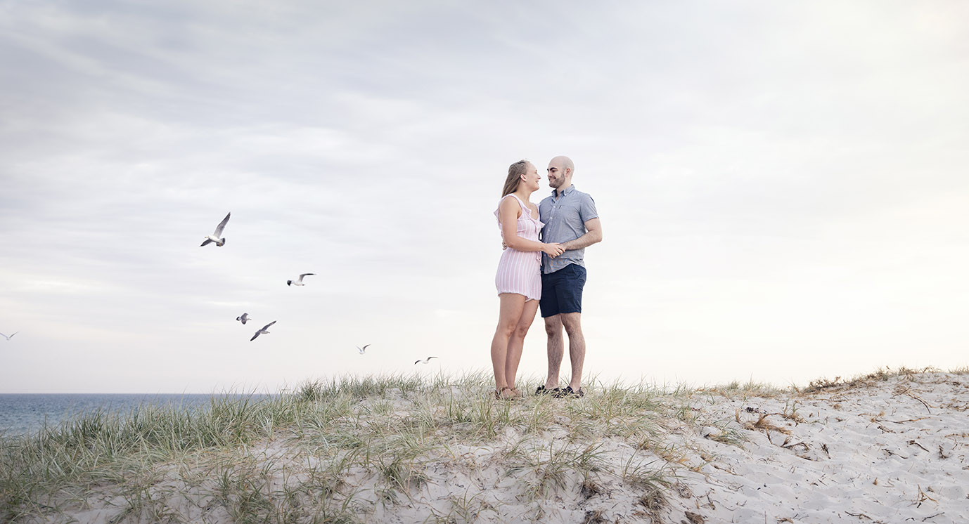 Grange Beach Engagement shoot