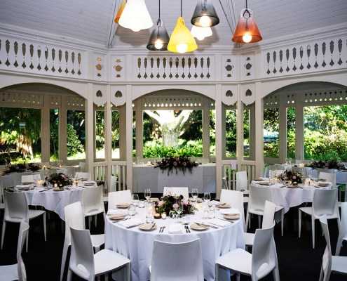 Inside the Adelaide Botanic Garden Restaurant