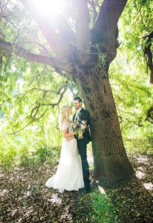 Under a tree together