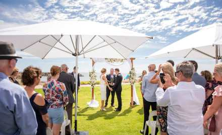 Adelaide Sailing Club Wedding