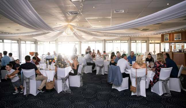 Inside the Adelaide Sailing Club