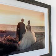 Katie & Jakob's Framed Print