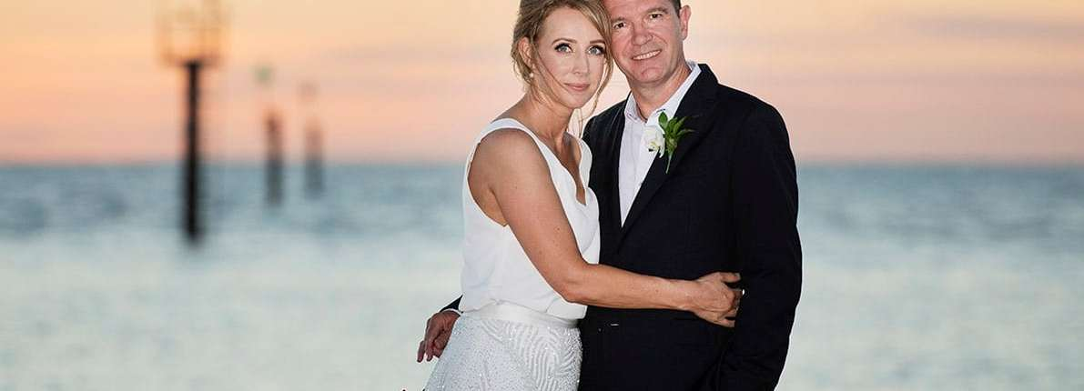 Adelaide Sailing Club Wedding - Helen & Simon 1