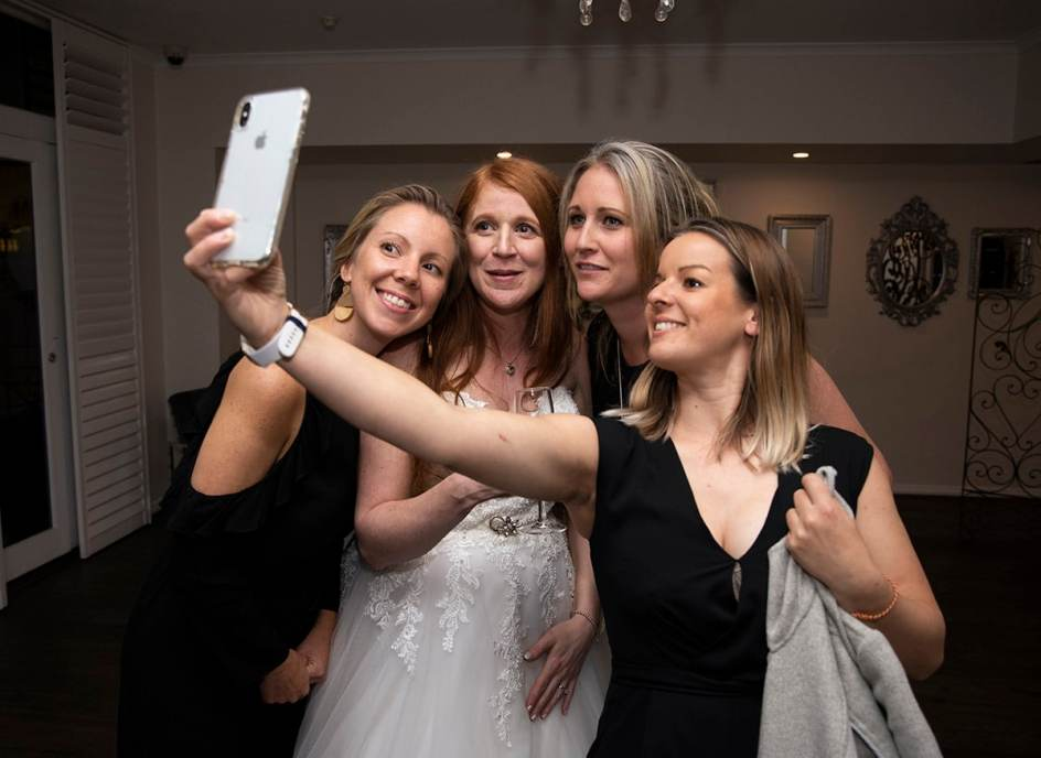 Selfie with the girls