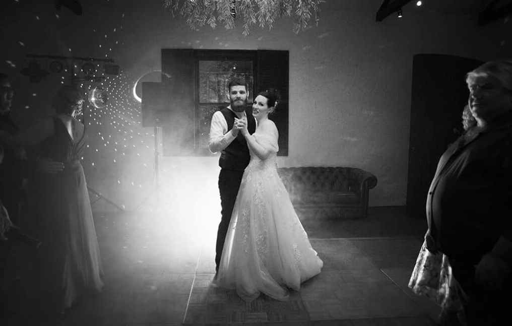 first dance at st francis winery
