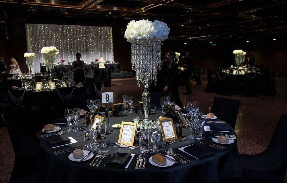 Intercontinental Hotel wedding table