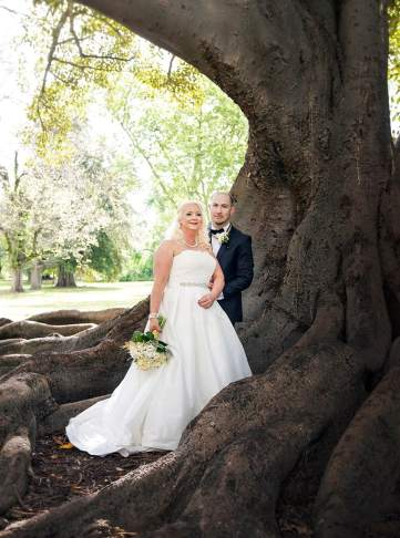 Together in a Botanic Park tree