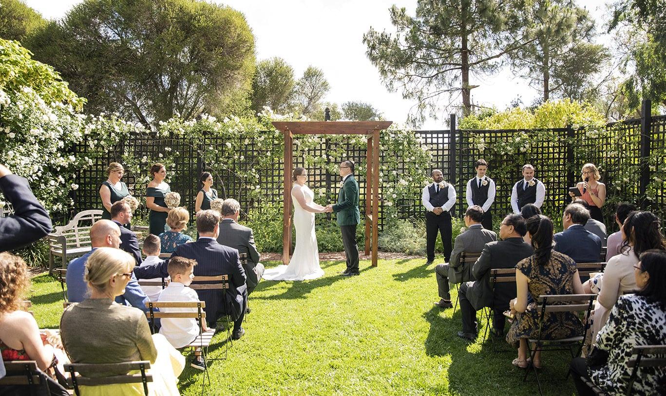 AlRu Farm wedding ceremony
