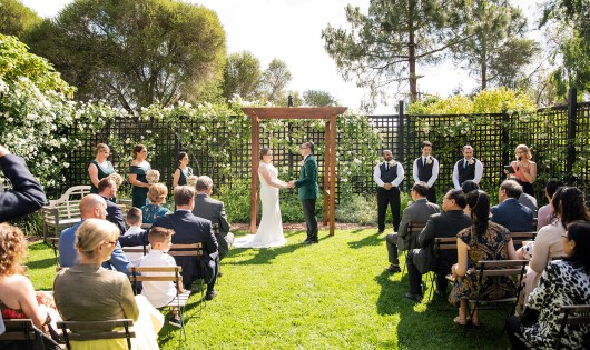 AlRu Farm wedding ceremony