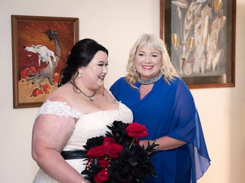 Bride with Mum