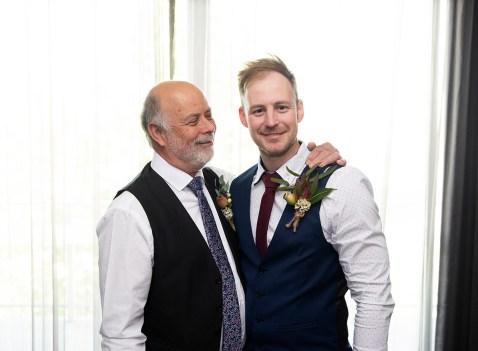 Dad and Groom