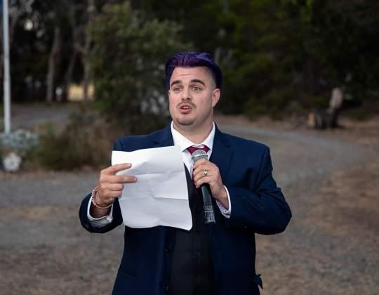 groom's speech