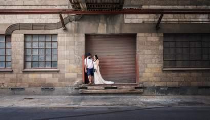 Crozier street wedding photo