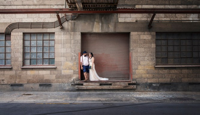 Crozier street wedding photo