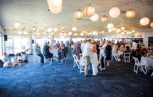 Adelaide Sailing Club Wedding Reception