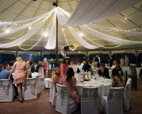 Adelaide Zoo wedding reception