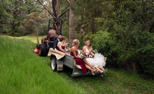 Idyll & Co bridal transport