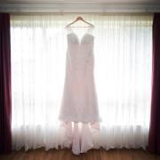 Wedding dress in window 3
