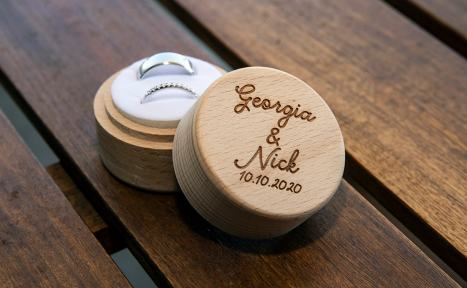 Wedding rings box 2