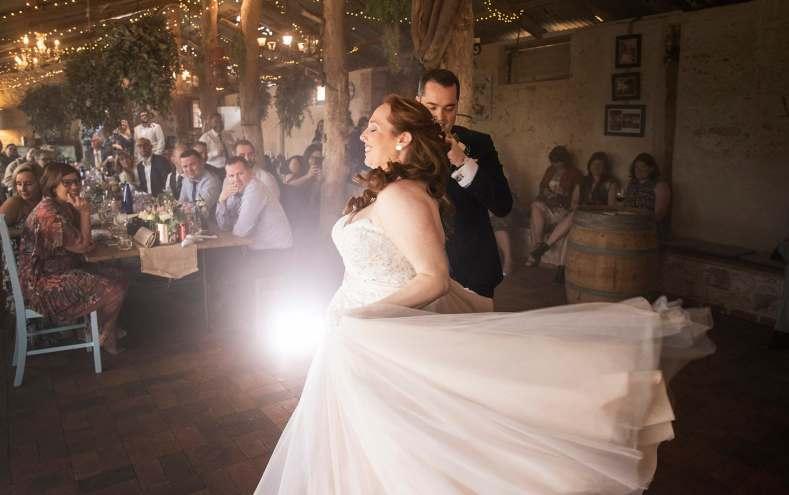 Ivybrook Farm wedding first dance