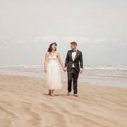 Beach Huts Middleton Wedding