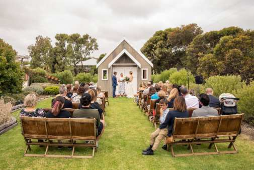 Crabtree Farm wedding ceremony