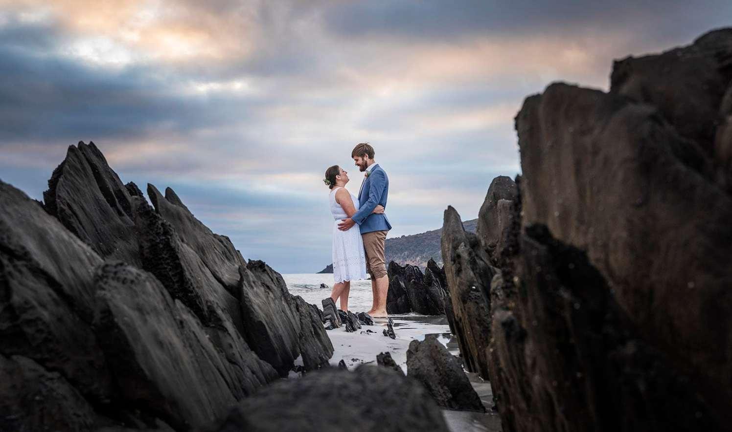Kangraoo Island Elopement photoshoot