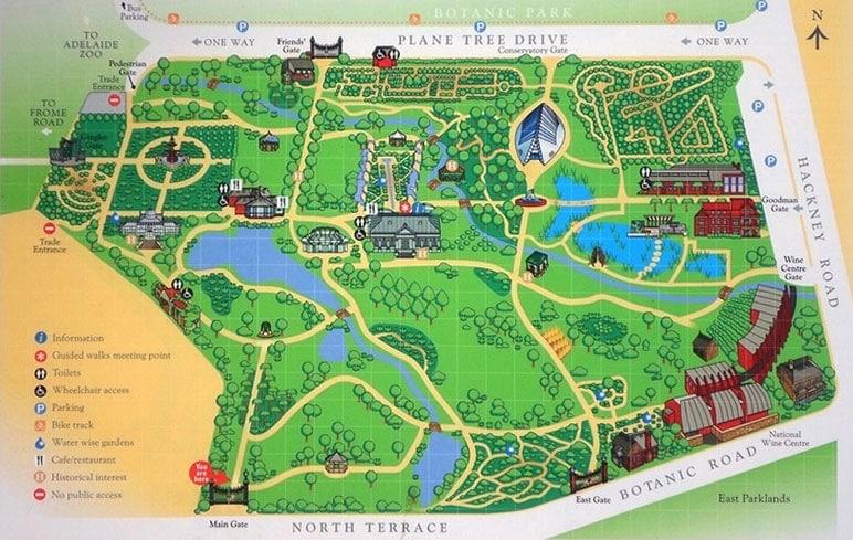 Adelaide Botanic Gardens Wedding Ceremony Locations
