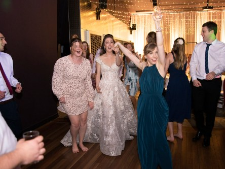 Getting the bride to dance more