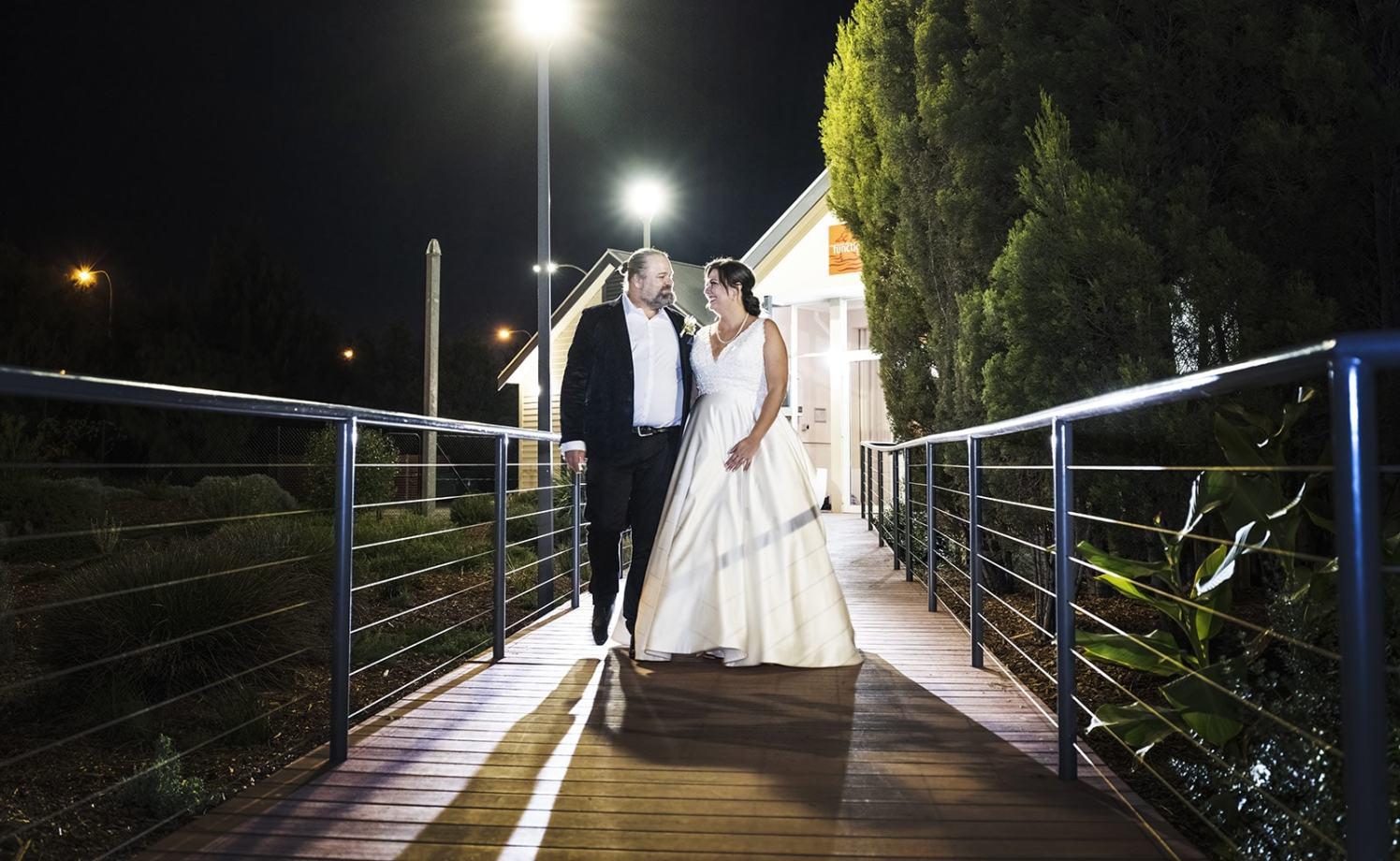 Watershed Wedding Photo