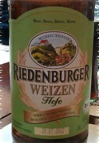 Riedenburger Hefe Weizen birra di frumento Biologica