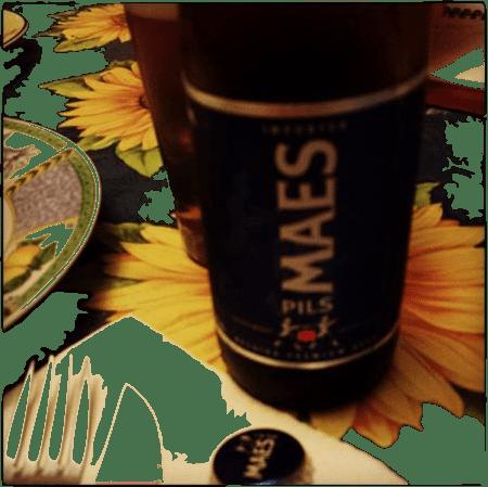 Birra Maes Pils Beer