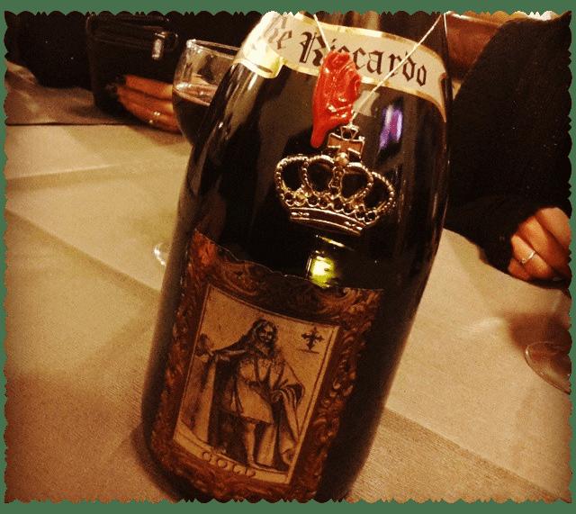 Re Riccardo Gold Lambrusco dell'Emilia IGT Vino Frizzante