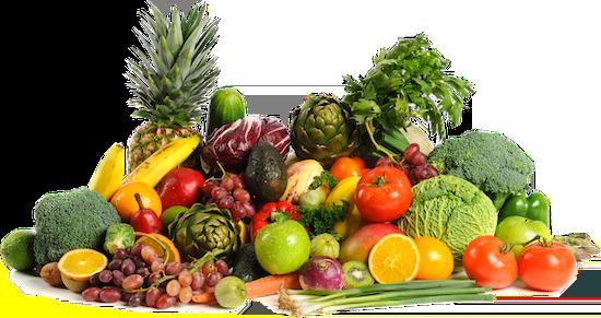 Frutta e verdura contro il caldo