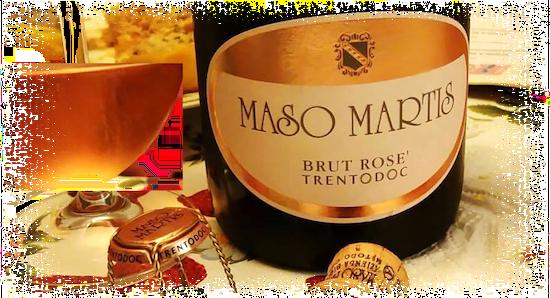 Maso Martis Brut Rosé TrentoDOC Sboccatura 2014
