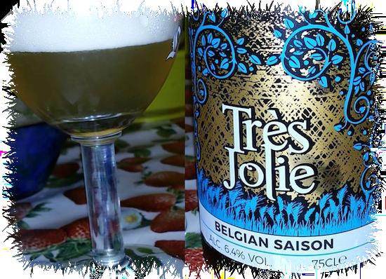 Birra Tres Jolie Belgian Saison