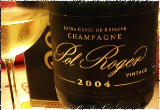 Champagne Pol Roger Vintage Brut 2004