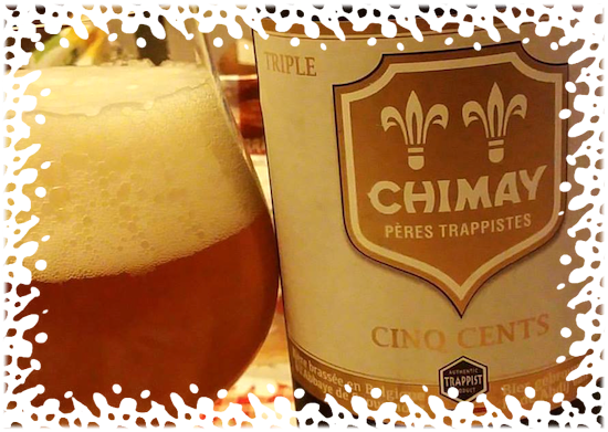 Chimay Cinq Cents Triple